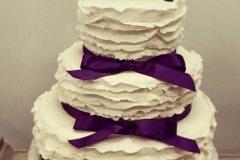 purple wedding cakes Saskatoon