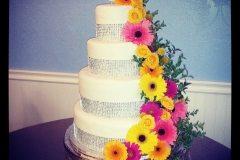 spring wedding cake Saskatoon