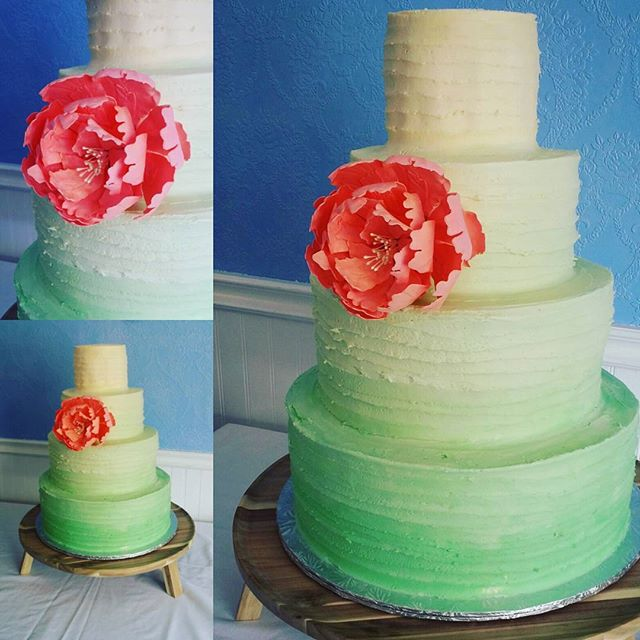 flower wedding cake Saskatoon (1)