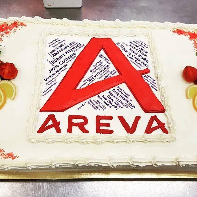 Corporate cake Saskatoon