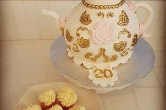 tea and cake Saskatoon