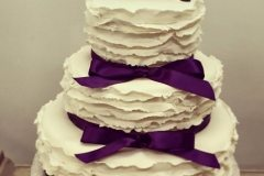 purple wedding cakes Saskatoon
